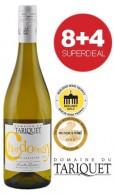 8+4 SUPERDEAL: 12 Fl. Domaine du Tariquet Chardonnay 2017