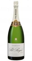 Doppelmagnum (3,0 L) Champagne Pol Roger Brut Réserve in 1 er OHK