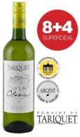 8+4 SUPERDEAL: 12 Fl. Domaine du Tariquet Classic Blanc 2017