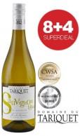 8+4 SUPERDEAL: 12 Fl. Domaine du Tariquet Sauvignon Blanc 2017
