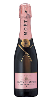 (0,375 L) Champagne Moët & Chandon Brut Rose