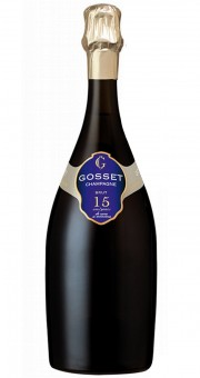 Champagne Gosset 15 Ans de Cave a Minima Brut