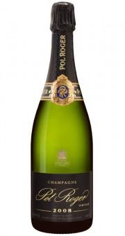 Champagne Pol Roger Brut Vintage 2008 im Etui