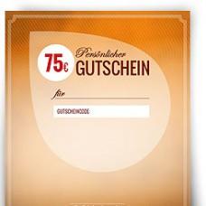 Geschenkgutschein über 75,00 EUR