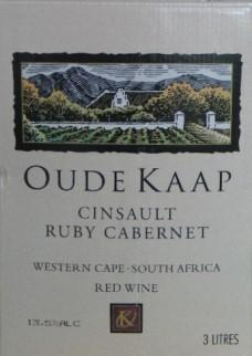 3,0 L (BIB) Oude Kaap Cabernet Sauvignon Cinsault Ruby