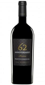 San Marzano 62 Anniversario Primitivo di Manduria Riserva 2013