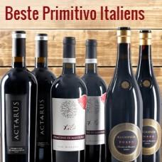 6-Flaschen Paket: Die Besten Primitivo Italiens + frei Haus (D)
