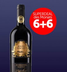 6+6 Superdeal: 12 Fl. Poggio Lauro Sogno Toscano Winemaker's Selection 2014