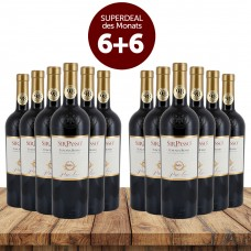 6+6 Superdeal: 12 Flaschen Poggio Lauro Sir Passo Toscana Rosso 2018 + versandkostenfrei (D)