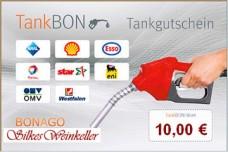 Tankgutschein im Wert von brutto 10,00 €