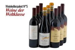 9 Flaschen Weinkellerpaket 5 - Weine der Weltklasse