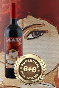 6+6 SUPERDEAL: 12 Fl. Sabor Real Seleccion Tinto 2015