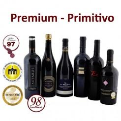6 Fl. Primitivo-Premium-Paket + frei Haus (D)