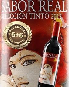 6+6 SUPERDEAL: 12 Fl. Sabor Real Seleccion Tinto 2013