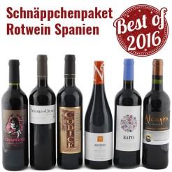 6 Fl. Schnäppchen-Paket Rotwein Spanien
