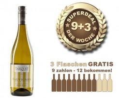 9+3 SUPERDEAL: 12 Fl. Domaine du Tariquet Sauvignon Blanc 2016