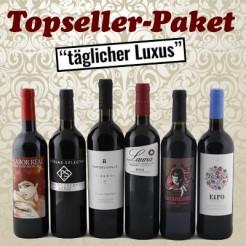 """6 Fl. Topseller-Paket """"täglicher Luxus"""""""
