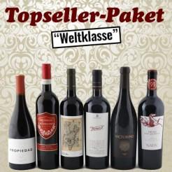 "6 Fl. Topseller-Paket ""Weltklasse"""