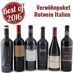 6 Fl. Verwöhn-Paket Rotwein Italien