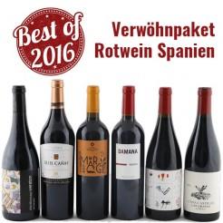 6 Fl. Verwöhn-Paket Rotwein Spanien