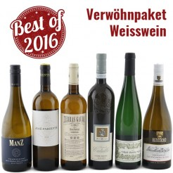 6 Fl. Verwöhn-Paket Weisswein