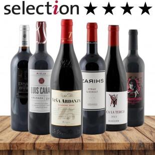 24 Sterne Paket-Spanien-Bester Weinhändler 2018