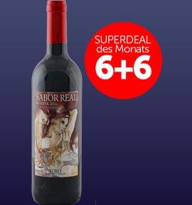 6+6 Superdeal: 12 Fl. Sabor Real Reserva Viñas Centenarias 2012