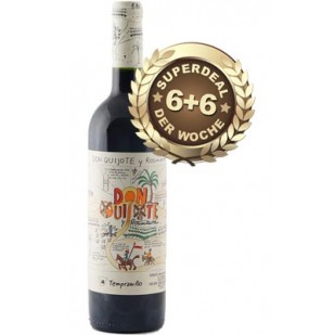 6+6 SUPERDEAL: 12 Fl. Don Quijote y Rosinante Roble 2014