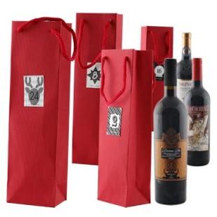 24 Flaschen Adventskalender-Weinpaket + frei Haus (D)