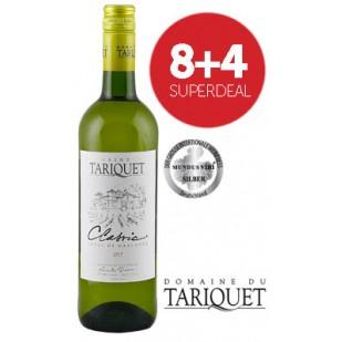 8+4 Superdeal: 12 Flaschen Domaine du Tariquet Classic Blanc 2018