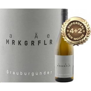 4+2 SUPERDEAL: 6 Fl. Markgräfler Grauburgunder trocken 2016