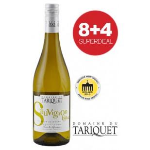 8+4 Superdeal: 12 Flaschen Domaine du Tariquet Sauvignon Blanc 2018