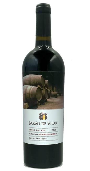 Produktbild zu Barão de Vilar Douro Red Seasoned Oak Barrels 2018 von Barão de Vilar