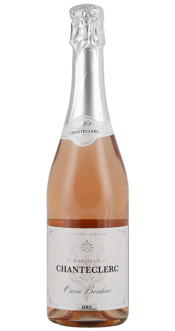 Produktbild zu Baron de Chanteclerc Rosé Dry alkoholfrei von Colombette