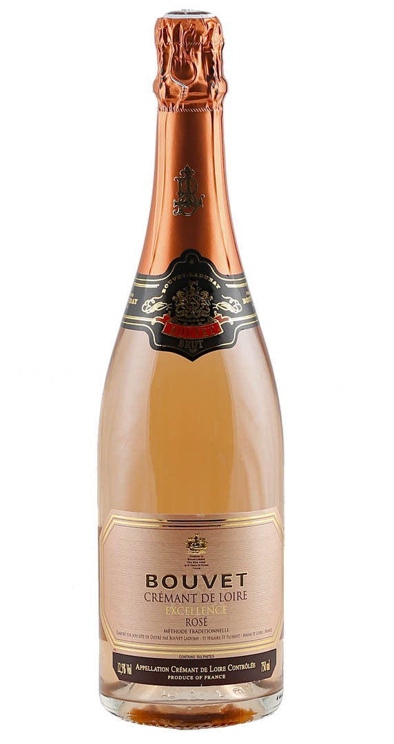 Bouvet-Ladubay Crémant de Loire Brut Rosé 0,75l...