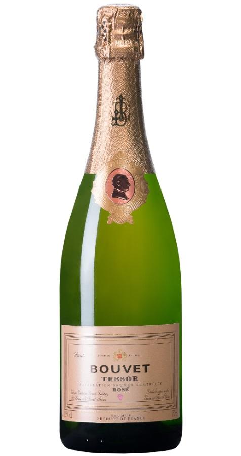 Produktbild zu Bouvet-Ladubay Brut Tresor Rose Saumur von Bouvet-Ladubay