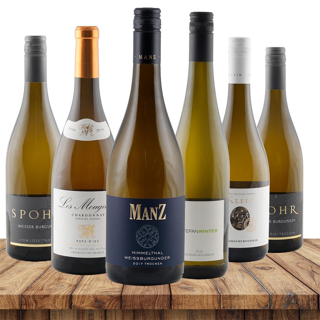 Burgunder Favoriten - 6 beliebte Weißweine im P...