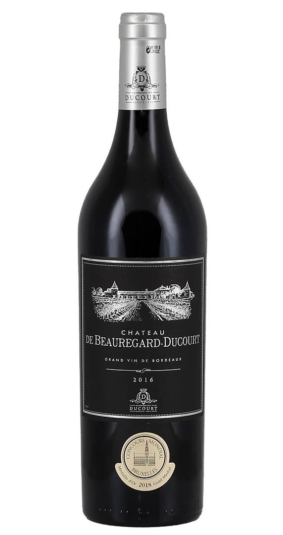 Produktbild zu Château de Beauregard-Ducourt Black Label Bordeaux Rouge 2016 von Vignobles Ducourt