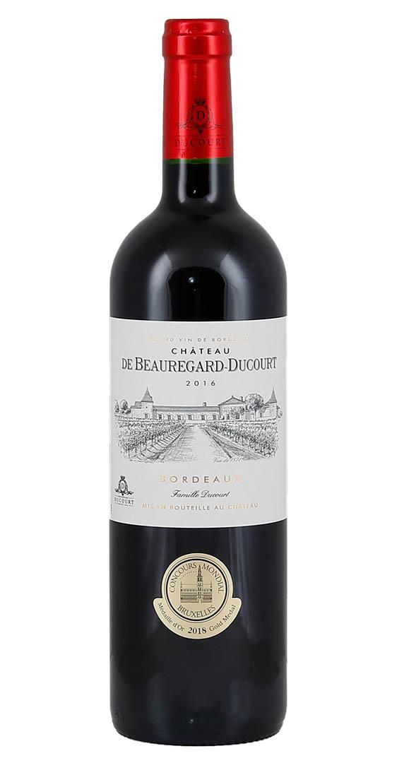 Produktbild zu Château de Beauregard-Ducourt Bordeaux Rouge 2016 von Vignobles Ducourt
