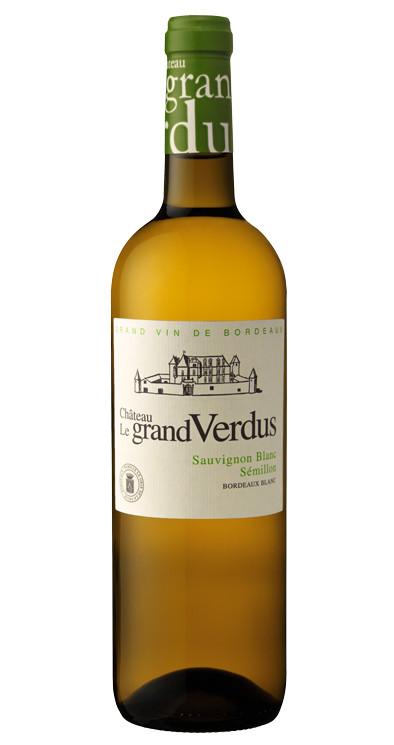 Produktbild zu Château Le Grand Verdus Sauvignon Blanc & Sémillon Bordeaux Blanc 2019 von Château le Grand Verdus
