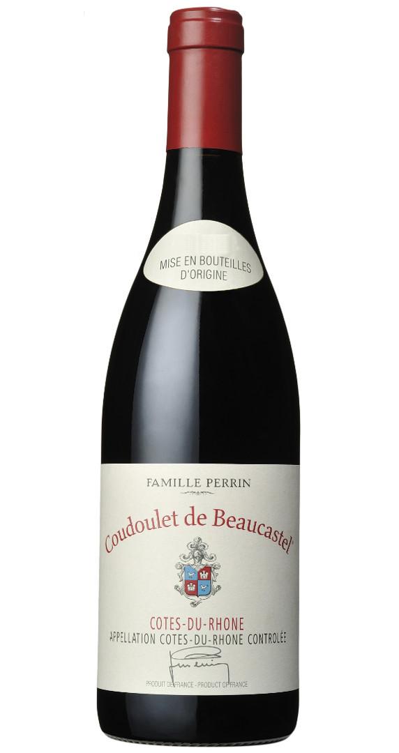 Produktbild zu Coudoulet de Beaucastel Côtes du Rhône Rouge 2018 von Famille Perrin - Château de Beaucastel