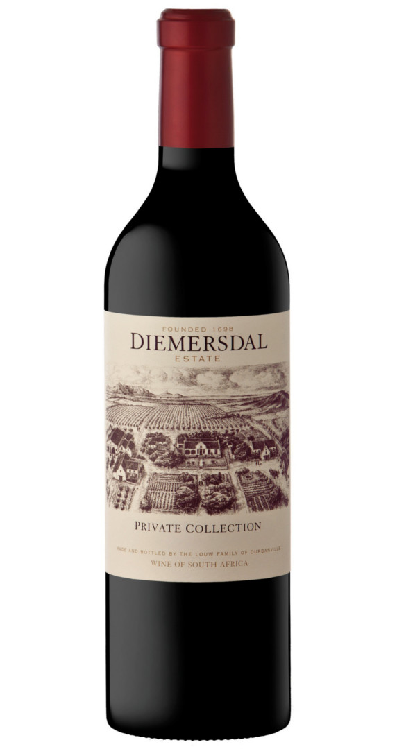 Diemersdal Private Collection 2015 0,75l Rotwei...