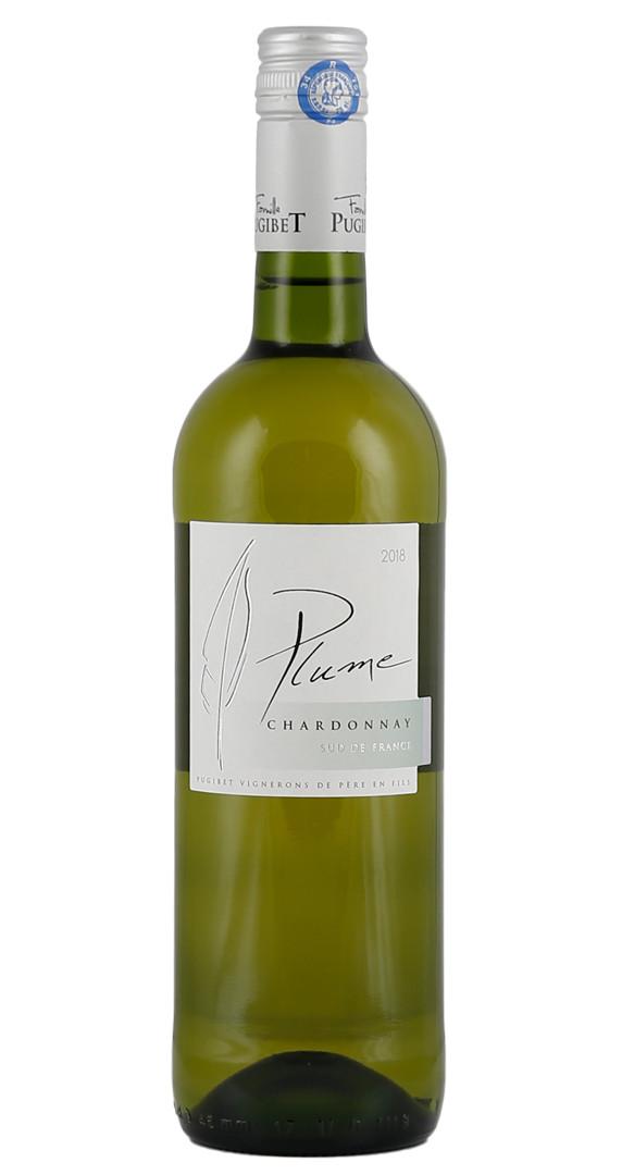 Produktbild zu Domaine la Colombette Plume Chardonnay 2019 von Colombette