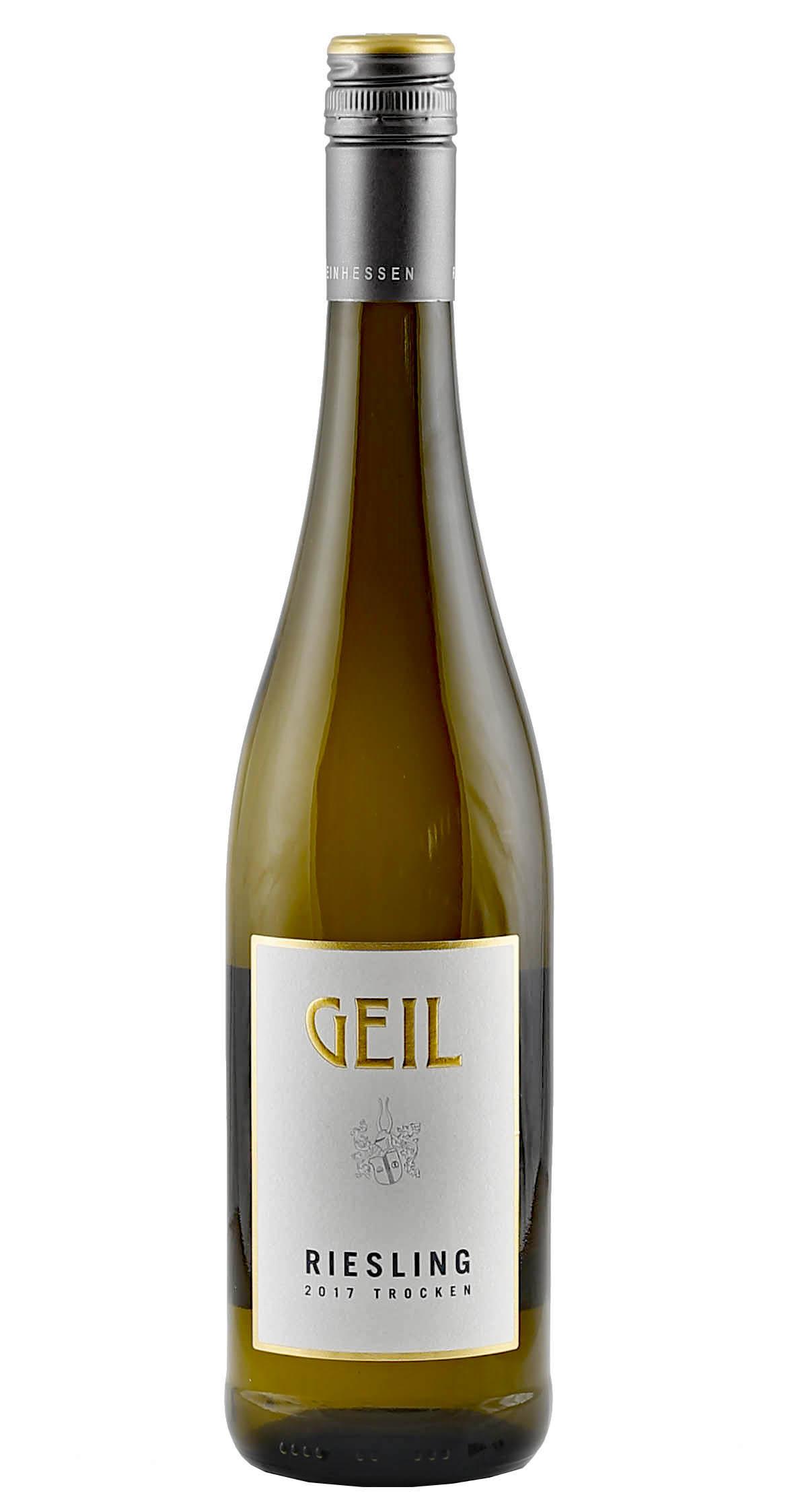 Produktbild zu Geil Riesling trocken 2019 von Geil