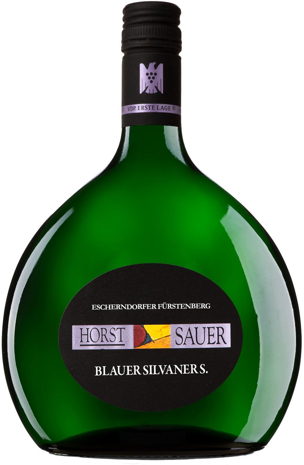 Produktbild zu Horst Sauer Escherndorfer Fürstenberg Blauer Silvaner S trocken 2019 von Weingut Horst Sauer