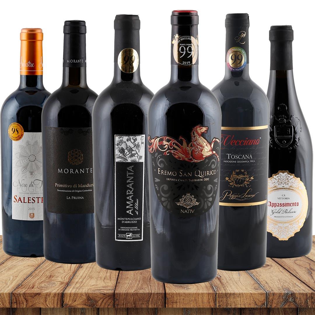 Luca Maroni-Favoriten verschiedene Weingüter 4,...