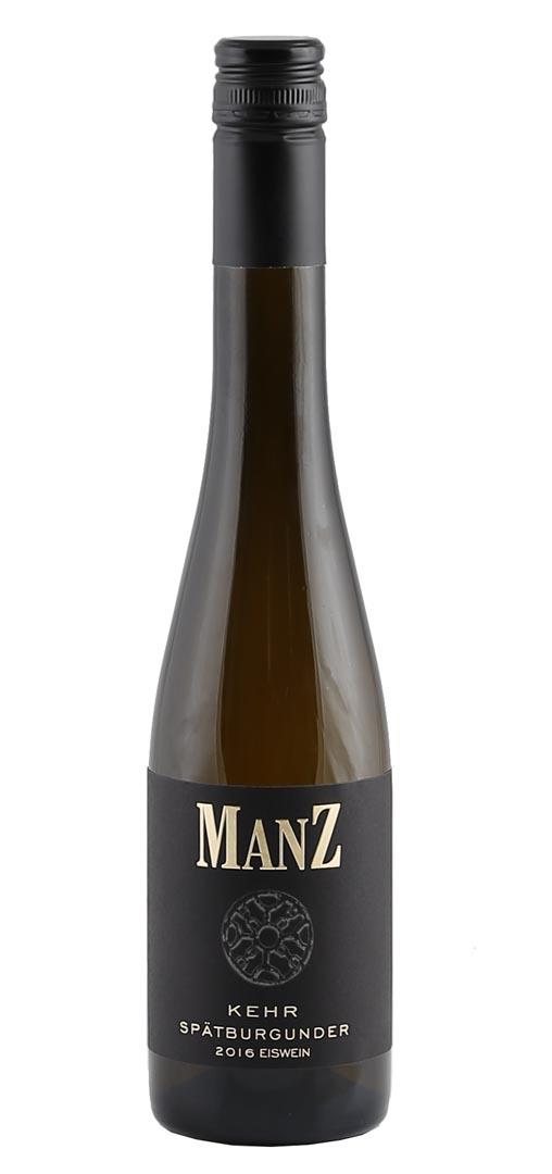 Produktbild zu (0,375 L) Manz Spätburgunder Blanc de Noir Eiswein Weinolsheimer Kehr 2016 von Weingut Manz