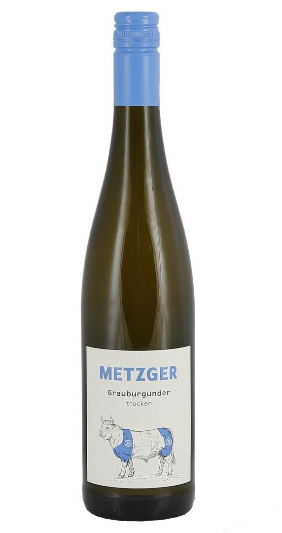 Produktbild zu Metzger Grauburgunder trocken 2019 von Metzger