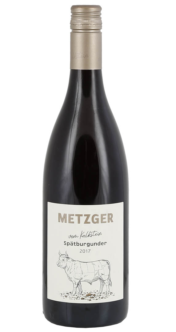 Produktbild zu Metzger vom Kalkstein Spätburgunder trocken 2018 von Metzger