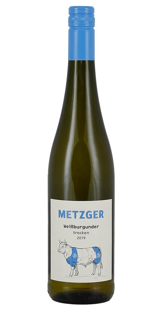 Produktbild zu Metzger Weißburgunder trocken 2019 von Metzger